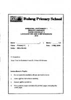 P3_English_SA1_2018_Rulang_Exam_Papers