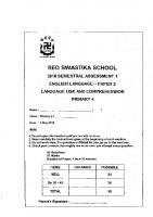 P4_English_SA1_2018_Red_Swastika_Exam_Papers