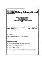 P5_English_SA1_2018_Rulang_Exam_Papers