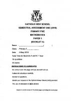 P5_Maths_SA1_2018_Catholic_High_Exam_Papers